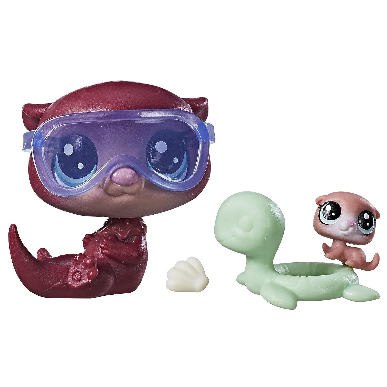 62d7d609733 Amazon.com  Littlest Pet Shop Trixie Otterbrook Timber Otterbrook  Toys    Games