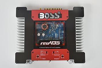 Boss REV435, 2 canales MOSFET de potencia del amplificador, 2 x 120 vatios RMS
