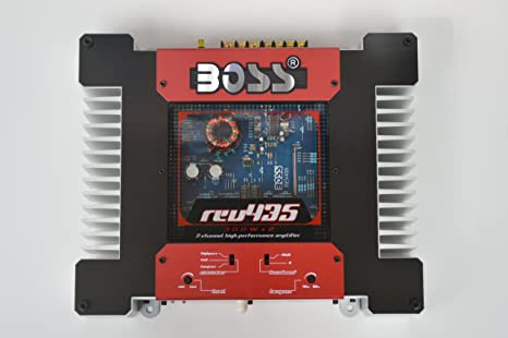 Boss REV435, 2-Channel Mosfet Power Amplifier, Riot Series, 2x 120 Watt