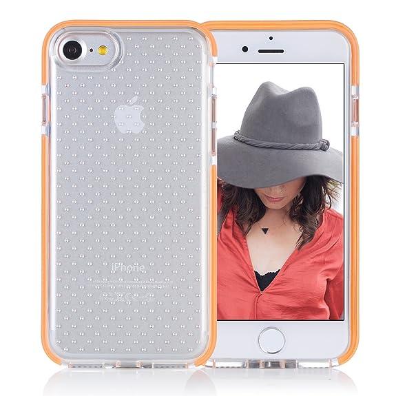 iphone 7 shockproof case orange