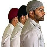 Pride Apparel Helmet Skull Cap Cotton Liner for Men and Women
