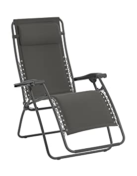 lafuma fauteuil relax pliable et rglable systme lacets rsx polycoton matelass - Fauteuil Relax Jardin Pliable