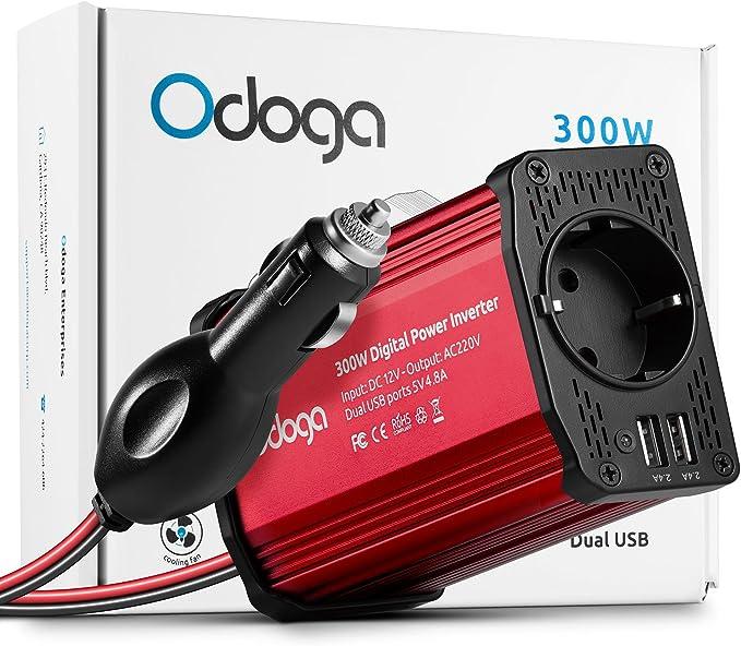 Odoga 300w Spannungswandler Wechselrichter Dc 12v Auf Elektronik
