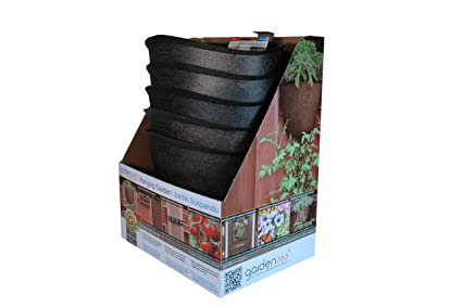 Amazon.com: Akro-Mils Vertical Hanging Garden Maceta ...