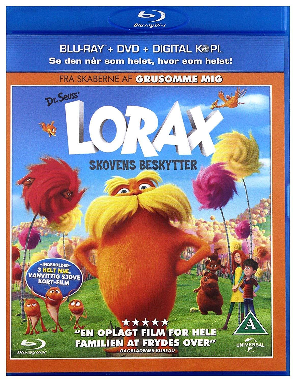 Lorax [Edizione: Scandinavia] [Italia] [Blu-ray]: Amazon.es: Cine y Series TV