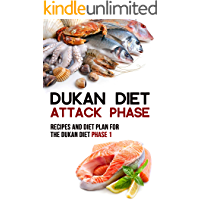 Dukan Diet Attack Phase: Recipes and Diet Plan for the Dukan Diet Phase 1