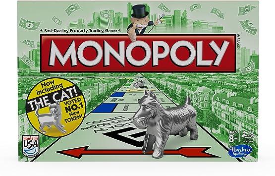 Hasbro Juego de Mesa Monopoly: Amazon.es: Juguetes y juegos