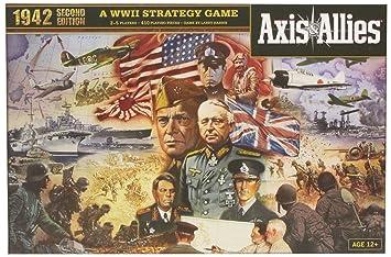 Wizards Of The Coast 39688 Axis Allies 1942 Juego De Mesa Sobre