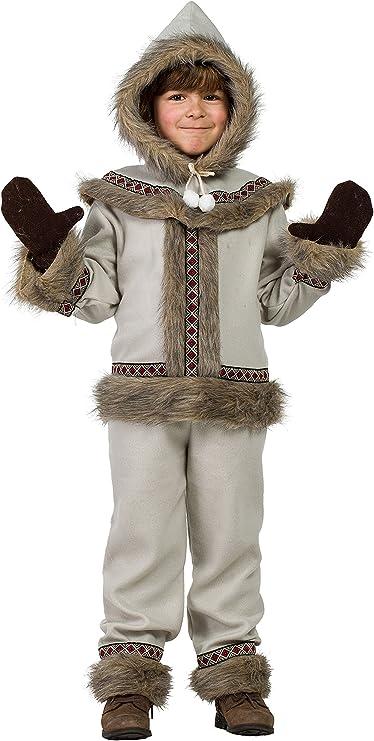 Disfraz Esquimal 5-6: Amazon.es: Juguetes y juegos