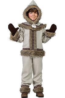 LLOPIS - Disfraz Infantil Esquimal niña t-0: Amazon.es: Juguetes y ...