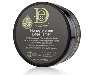 Amazoncom Design Essentials Natural Honey Shea Edge Tamer With
