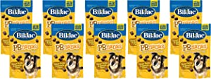 (10 Pack) Bil-Jac PB-Nanas Dog Treats, 4 Ounces each