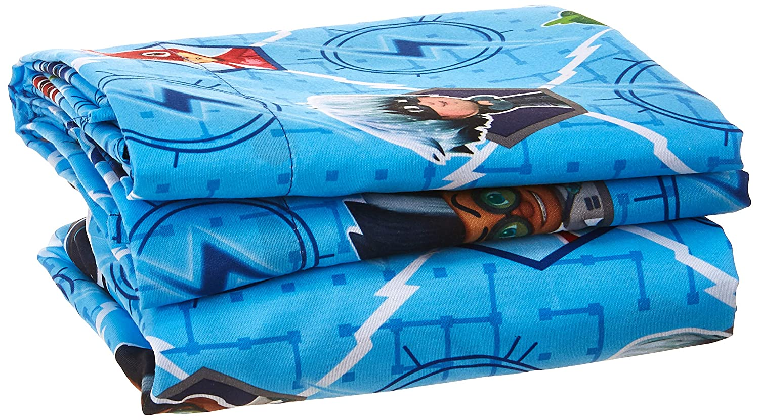 Blue PJ Masks PJ Masks Time to Save the Day 4 pc Toddler Bedding Set