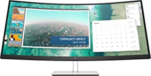 HP E344c 34inch Curved DisplayNew Retail, 6GJ95AA#ABBNew Retail