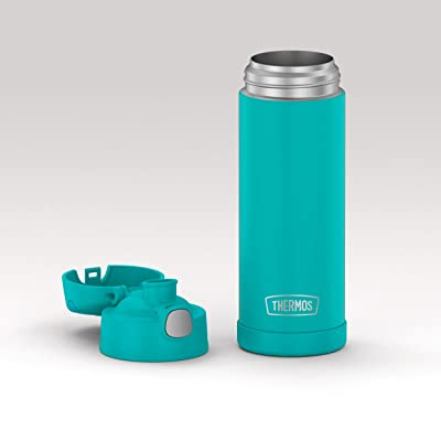Thermos 16oz Insulated Water Bottle FUNtainer Checkered 12 Hr Cold Drinks Spout