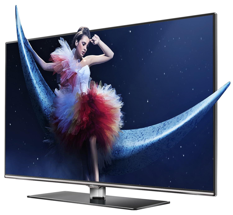 Thomson 40 fw6765/G - Televisor 3D con retroiluminación LED (Full HD, 200 Hz CMI, DVB-C/S/S2/T, Smart TV, WiFi Built-in, 3 x HDMI, Ci +, 2 x USB 2.0), Incluye 2 x Gafas