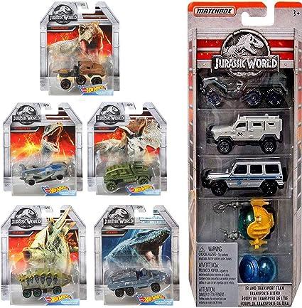 Amazon Com Ayb Character Dinosaurs Hot Wheels Cars Island