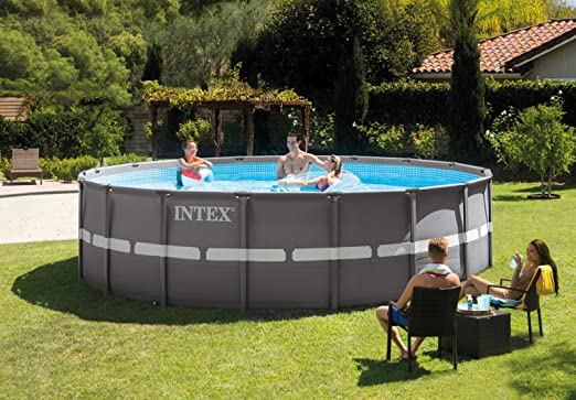 Intex - Ultra Frame - 28332 / 54926 - Piscina redonda para colocar ...