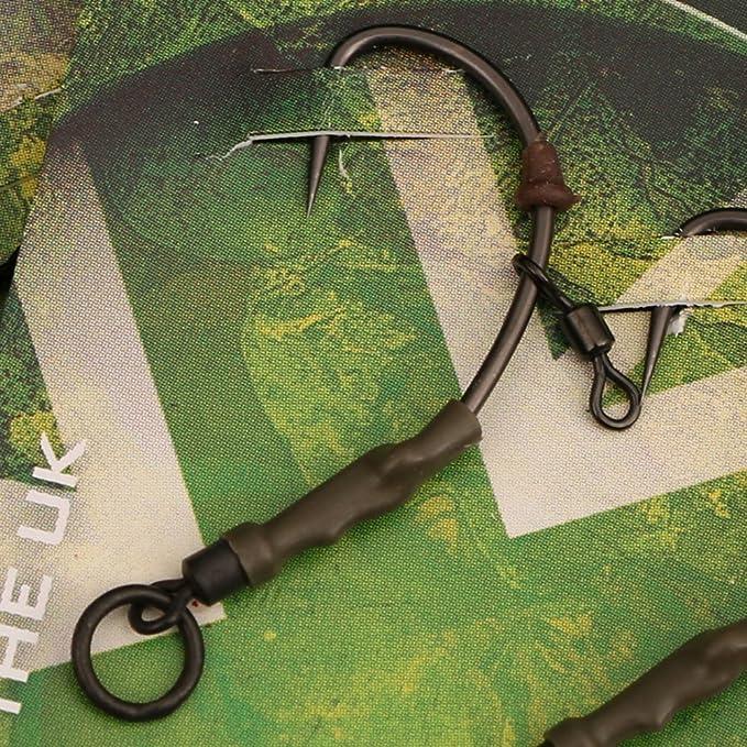 / /Pesca carpfishing en aguas dulces Aparejo Ronnie Rigs ya montado estilo pop-up pack de 3 unidades marca Gardner Tackle