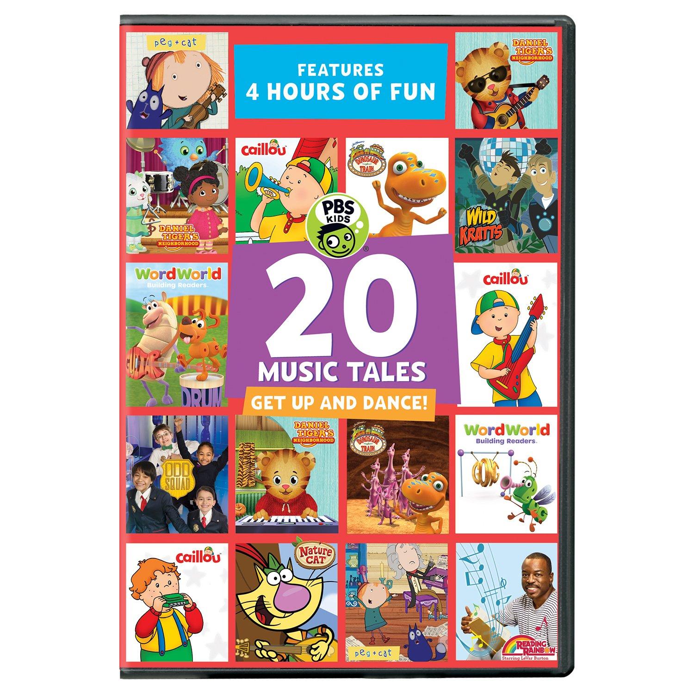 DVD : Pbs Kids: 20 Music Tales (DVD)