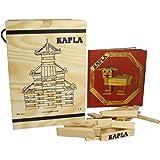WDK Partner A1204074 Kapla - Juego de construcción (280 bloques de madera y 1 libreto)