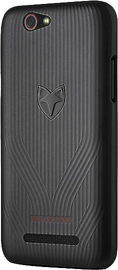 Wileyfox Spark - Funda para Smartphone, color negro: Amazon.es ...