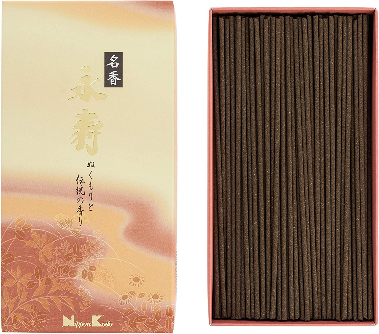 Incienso japonés, marrón, 16 x 8,5 x 3,5 cm, 300