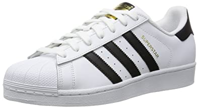 c23fcdf75ee8 adidas Superstar W, Chaussures de Gymnastique Femme, Blanc Core Black/FTWR  White,