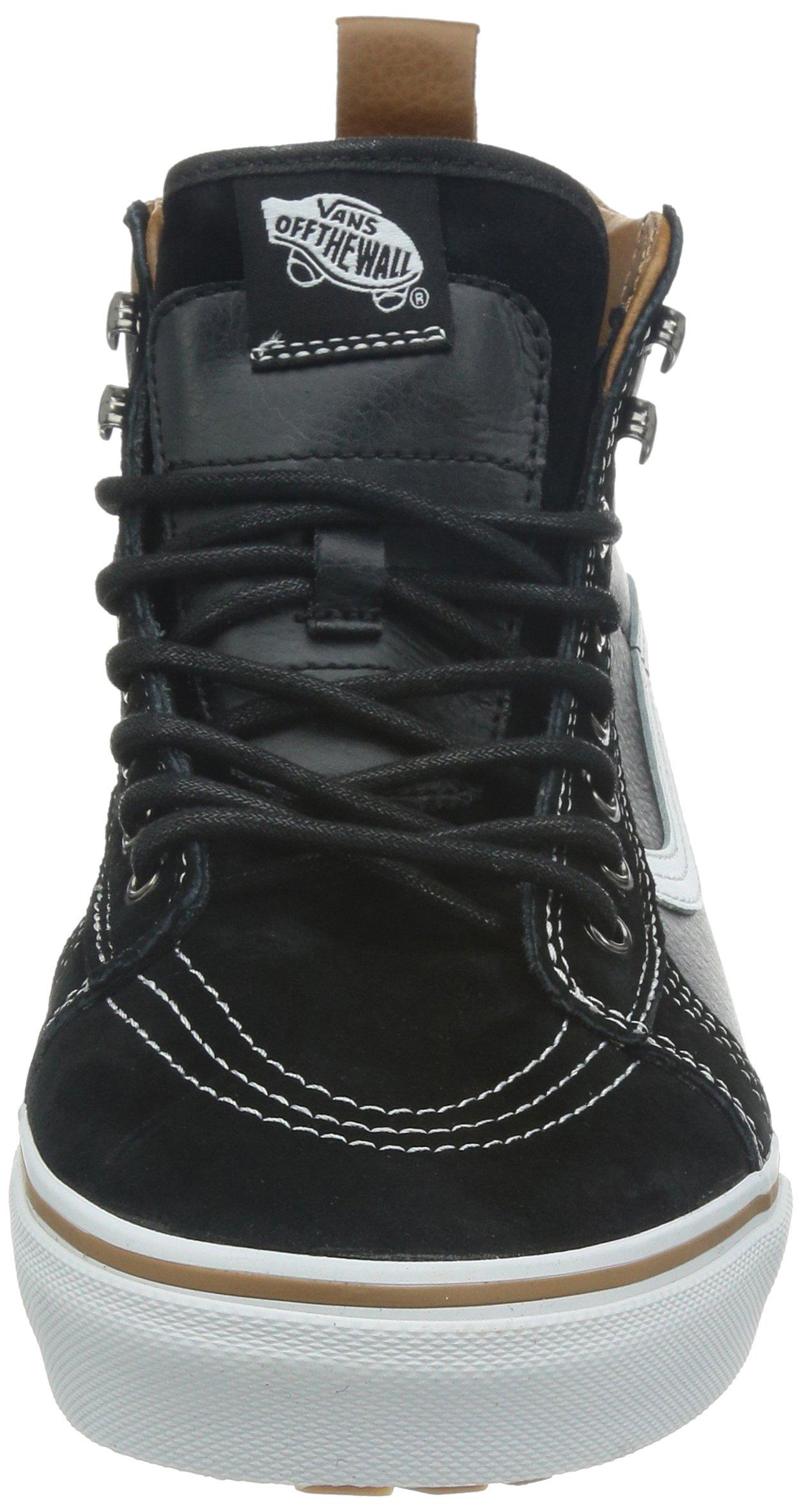 Vans Unisex Sk8-Hi MTE (MTE) Black/True White Skate Shoe 8.5 Men US/10 Women US by Vans (Image #4)