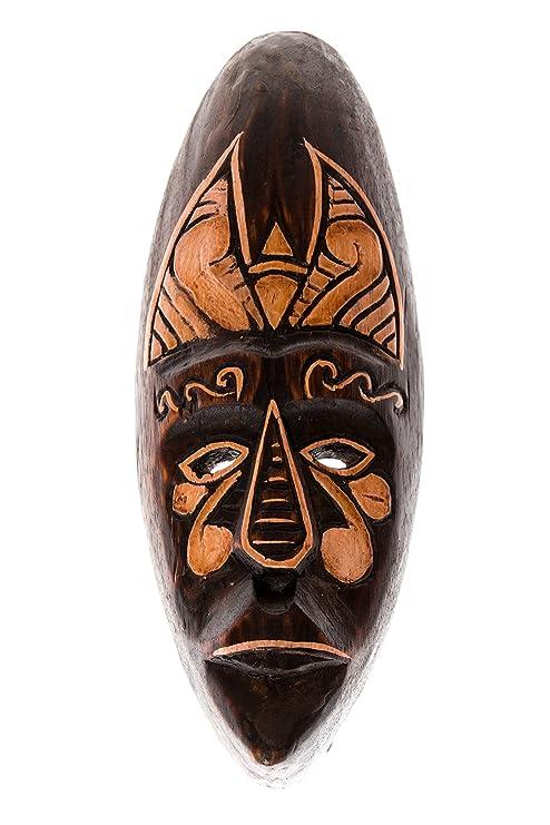 30cm Madera Maske Mascara Careta caratula Esculture Figura ...