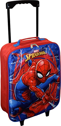 Marvel Spider-Man 15 Collapsible Wheeled Pilot Case - Small Rolling Luggage