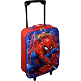 "Marvel Spider-Man 15"" Collapsible Wheeled Pilot Case - Rolling Luggage"