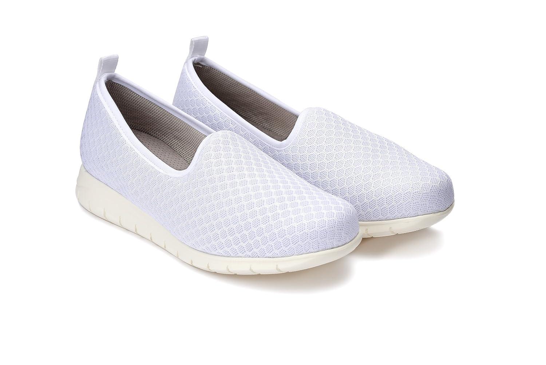 50-70% de descuento Cantidad limitada brillo encantador Oneflex Maeva Blanco - Zapato Cómodo para Trabajar en ...