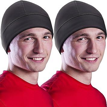 Love Skiing Men and Women Sweat Wicking Sports Beanie Hats