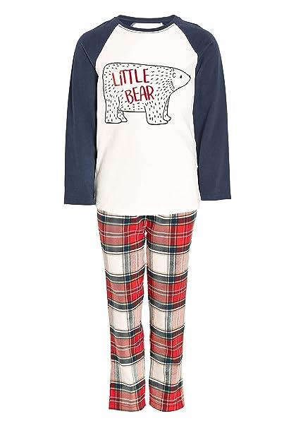 next Niñas Pantalones De Pijama De Tela con Estampado De Ositos (3-16 Años