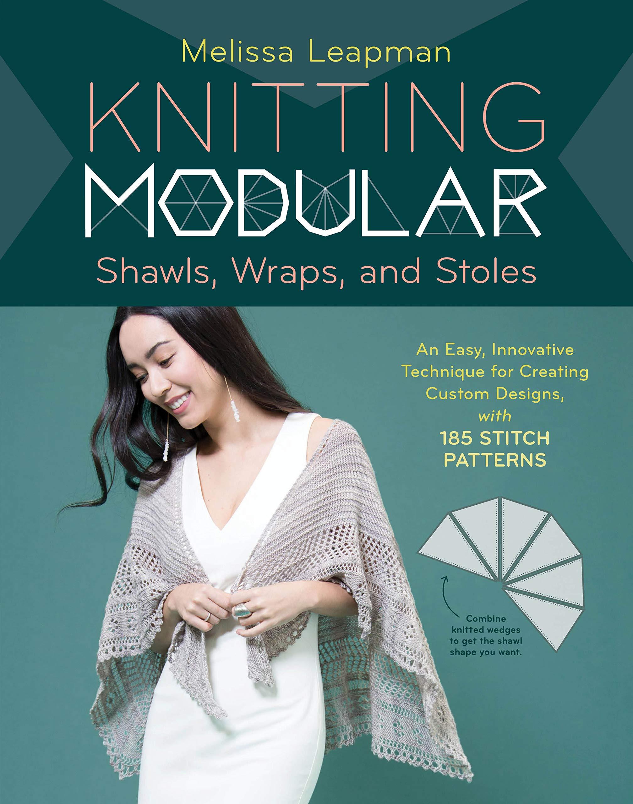 Amazon Knitting Modular Shawls Wraps And Stoles An Easy