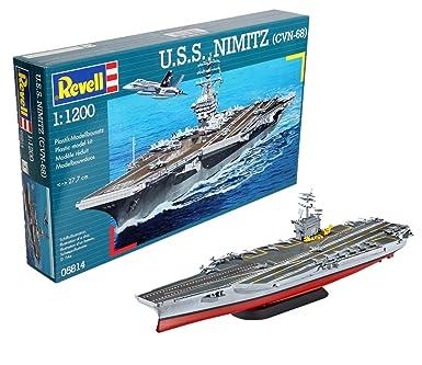 Revell Germany USS Nimitz (CVN-68) Model Kit