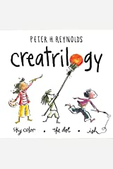 Peter Reynolds Creatrilogy Box Set (Dot, Ish, Sky Color) Hardcover