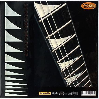Shark-Fin Jackson ... Fretboard Markers Inlay Sticker Decals for Guitar /& Bass