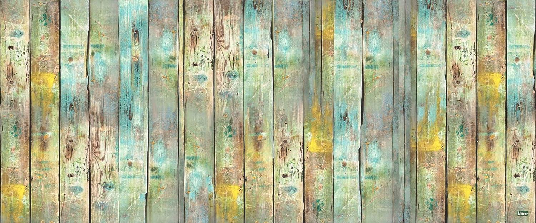 Laroom Alfombra 140 cm Vinylic Flooring PVC-Antislip Multicolor