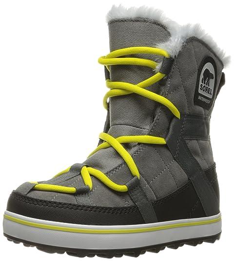Zapatos grises Sorel Glacy para mujer mnmeTw