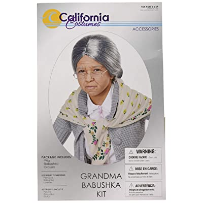 California Costumes Grandma Babushka Kit - Child, Assorted: Toys & Games