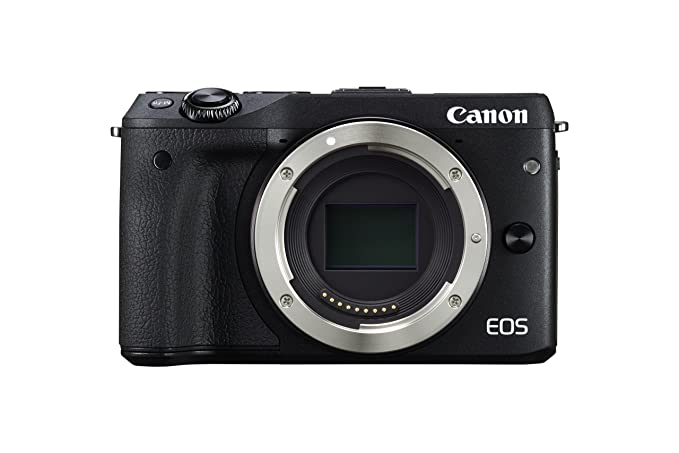 Canon EOS M3 Mirrorless Camera Body - Wi-Fi Enabled (Black) Digital Cameras at amazon