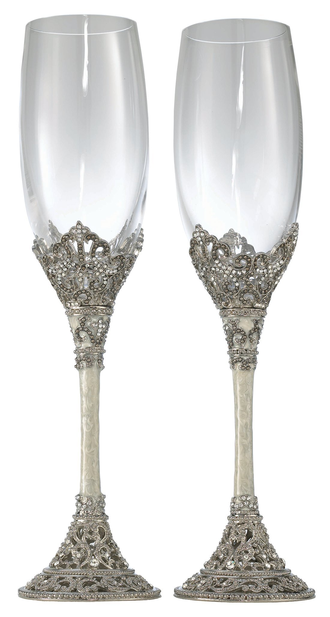 Olivia Riegel Celebration Flute Pair - 8 oz.