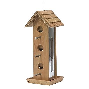Opus [Perky-Pet] 50171 Comedero para pájaros Caseta de madera: Amazon.es: Productos para mascotas
