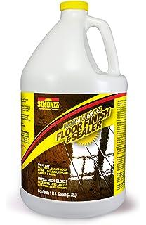 ULTRA HIGH GLOSS 33% Solids Floor Finish Wax   1 Gallon (More Durable,