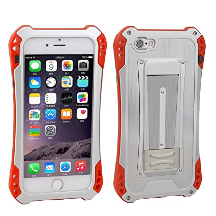 iPhone 6s Case,iPhone 6 Case,Personality Stainless Steel with ABS Full-body