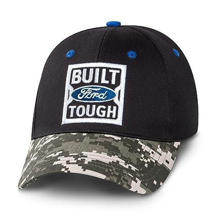 Ford Built Tough Digi-Camo Bill Negro Gorra de béisbol: Amazon.es ...