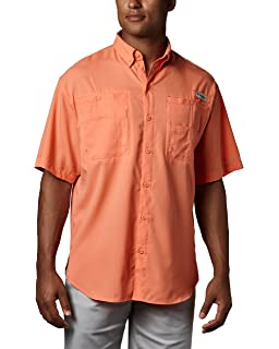 de396fefc36 Amazon.com  Columbia Men s PFG Bahama II Short Sleeve Shirt  Clothing