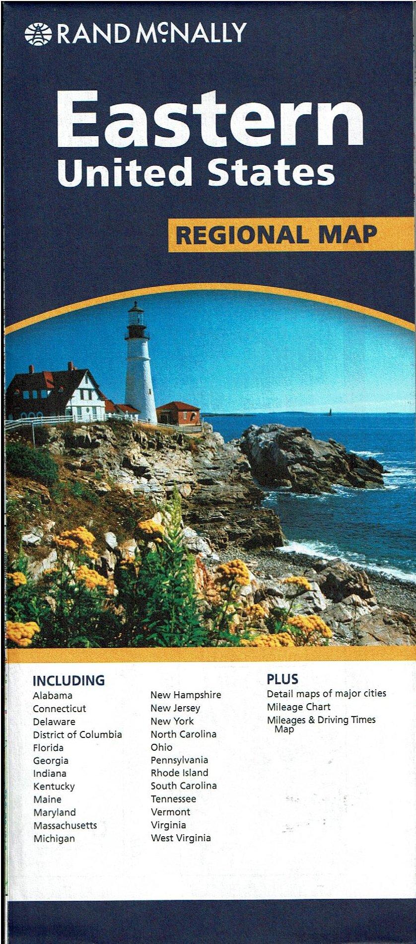 Eastern United States Regional Map PDF